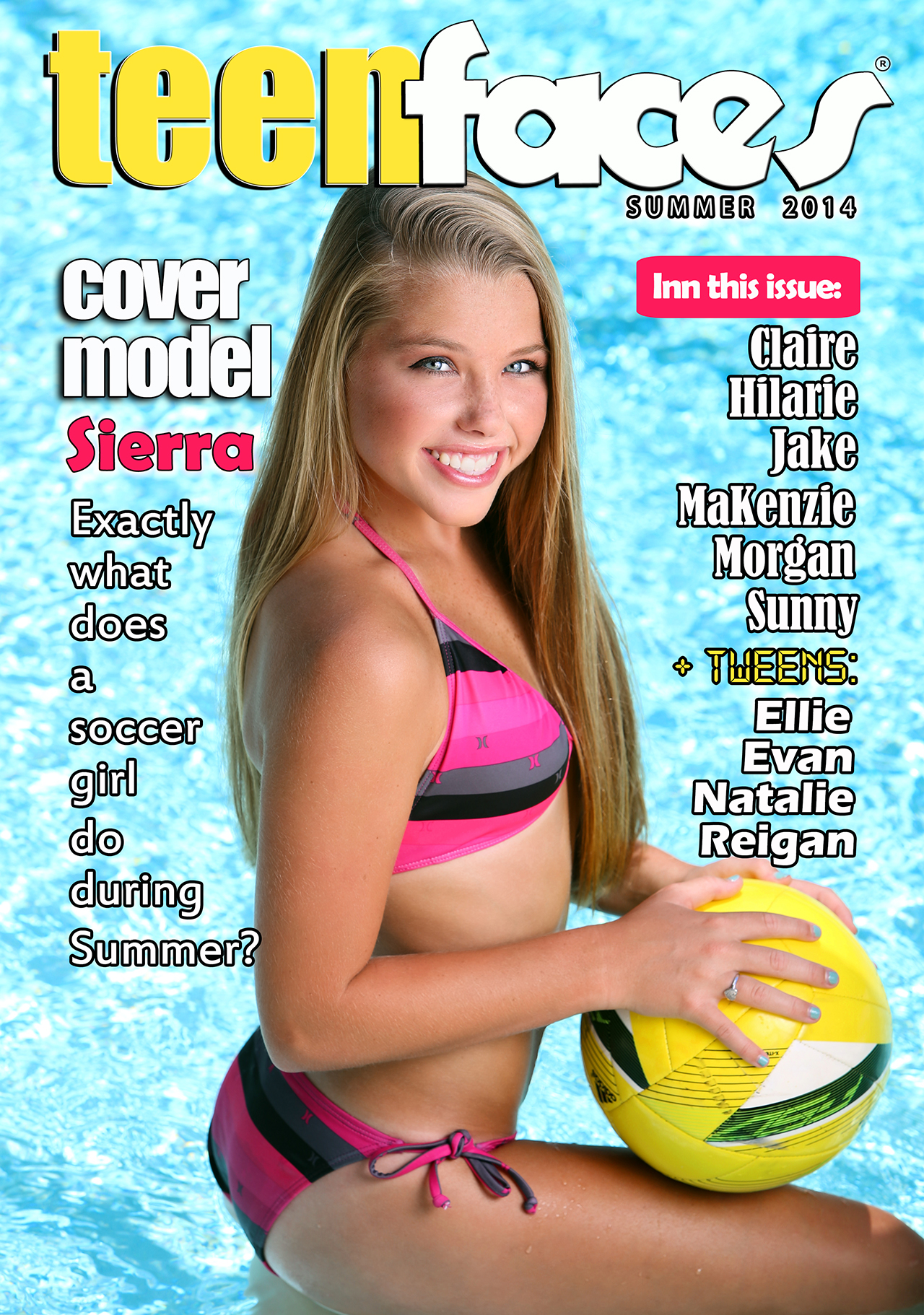 Are you ready for some fun in the sun? Our TeenFaces models gives you ...
